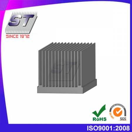 W54.5mm × H50.5mm LED鋁擠型散熱鰭片