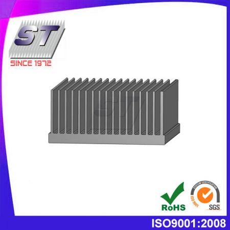 Koellichaam voor elektronische mechanische industrieën 76,5 mm × 35,0 mm