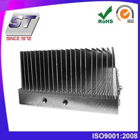 W92.0mm × H48.5mm 鋁製插片式散熱片-電子產業