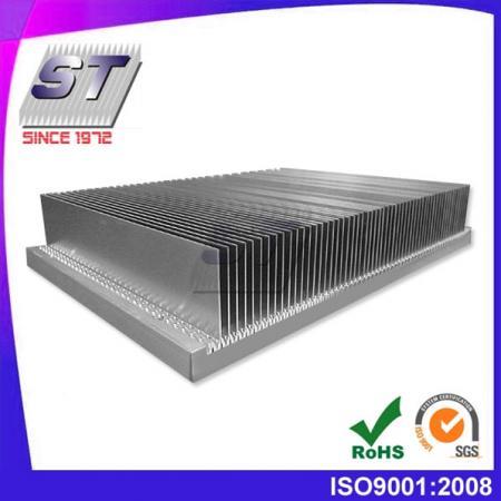 W250.0mm × H45.0mm 6063-T5插片鋁製散熱器
