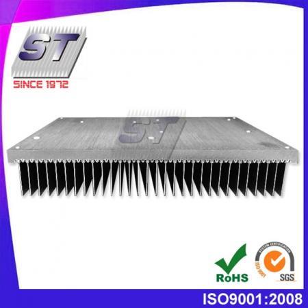Disipador de calor para la industria del automóvil 250,0 mm × 50,0 mm