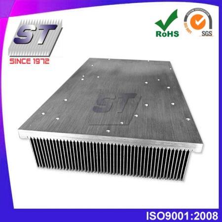 Aleta de inserción de aluminio Uso de elevador de disipador de calor