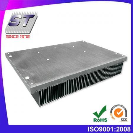W146.0mm × H50.0mm 電子用插片式鋁製散熱片