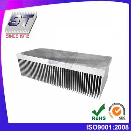 W230.0mm/344.75mm × H63.5mm  Machine equipment-Aluminum 6063-T5 Heat Sink
