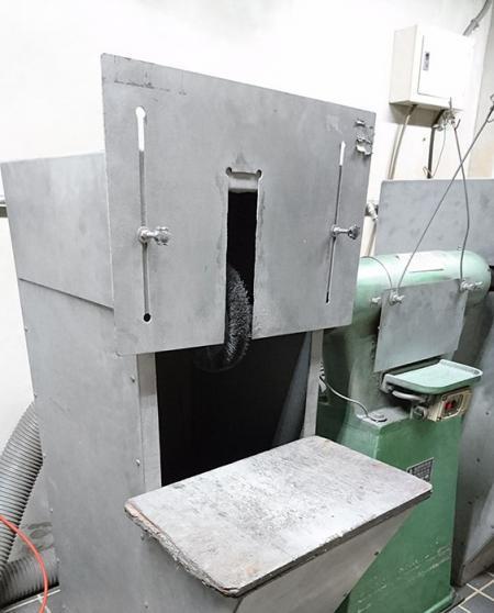 Máquina desbarbadora