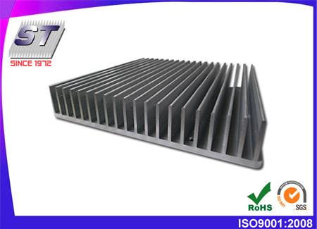 Dissipatore di calore in alluminio estruso