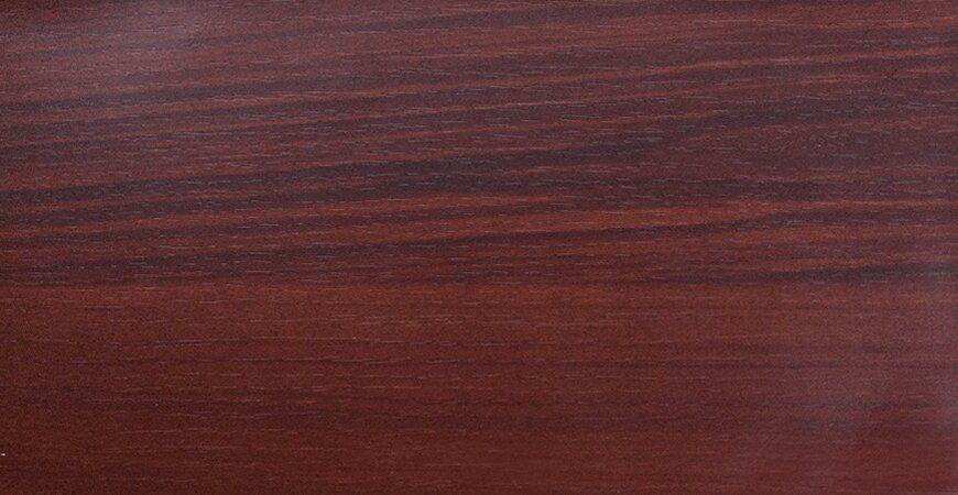 LCM-B104-Wood Grain PVC Film Laminated Metal - Red Cherrywood