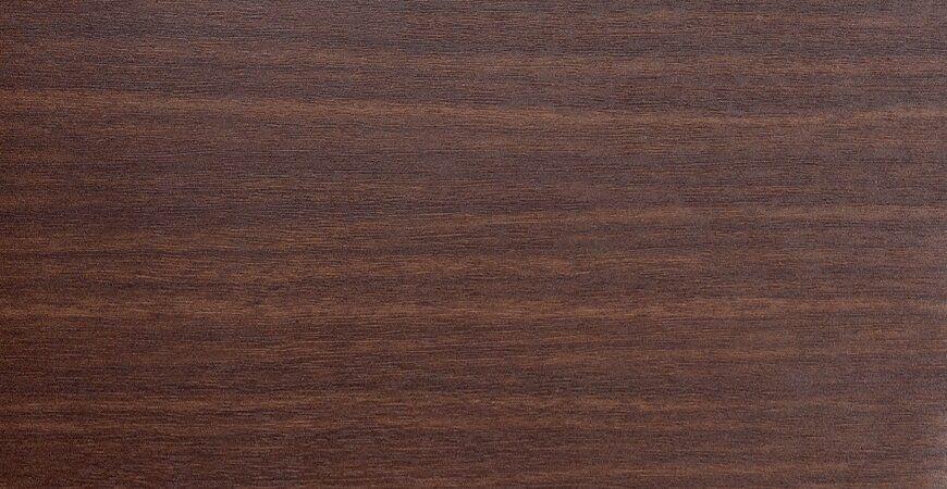 LCM-B112-Wood Grain PVC Film Laminated Metal-Brown Walnut