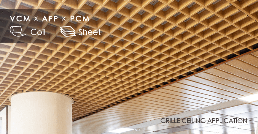 Grille Ceiling Application
