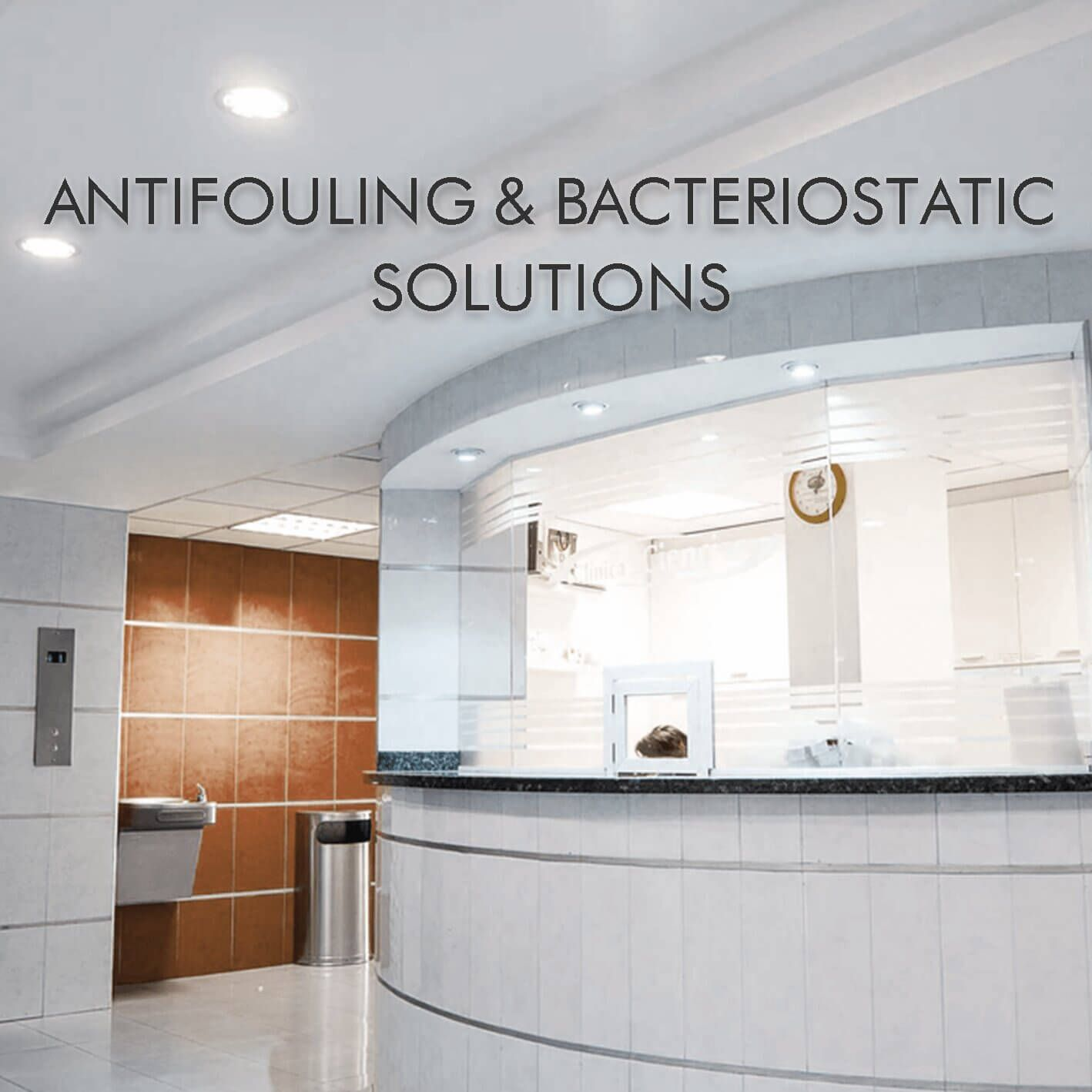 Outdoor laminated metal has the characteristics of anti-fouling, sterilization, waterproof and mildew