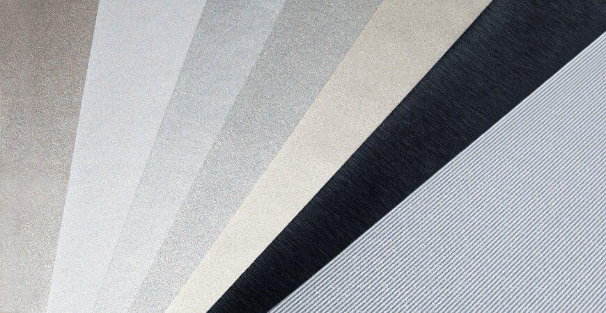 Metallic Texture PVC Film Laminated Metal
