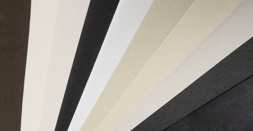 Plain PVC Film Laminated Metal