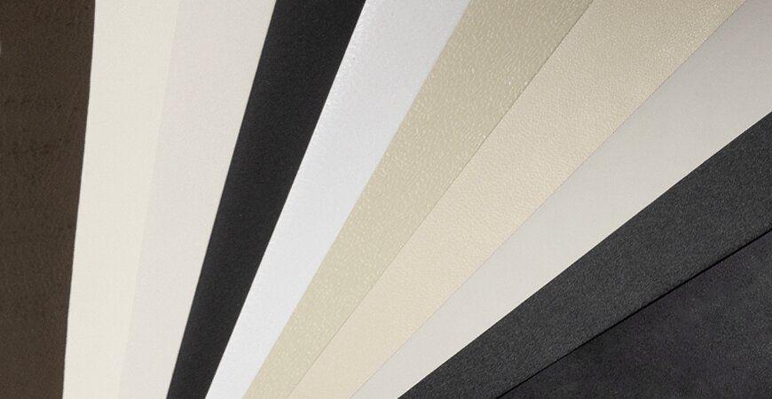 Plain PVC Film Laminated Metal
