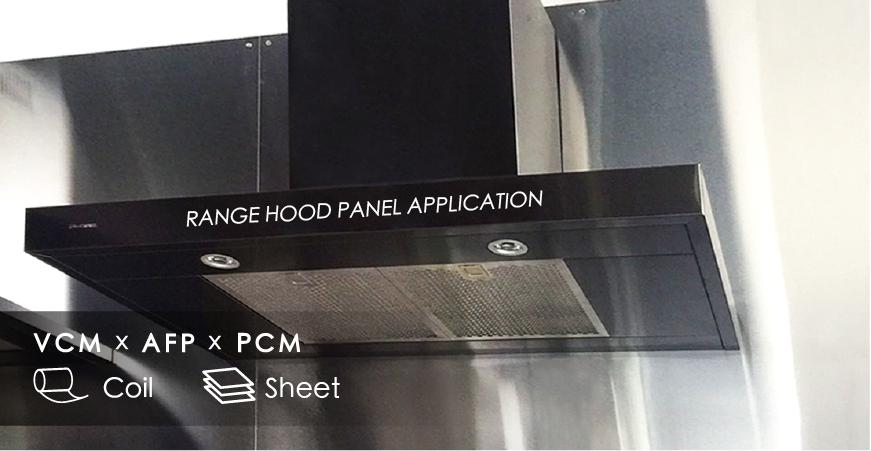 Range Hood Panel Application