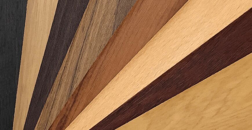 Woodgrain PVC Film Laminated Metal
