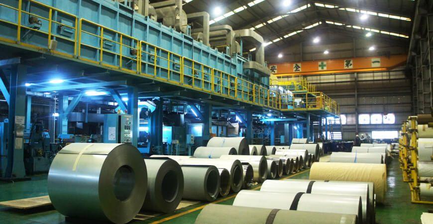 Produzione di processo pre-rivestito Roll to Roll