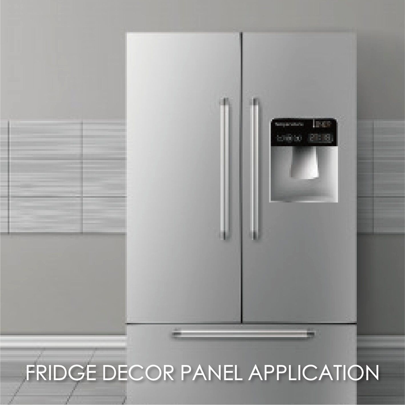 Making anti-fingerprint stainless steel for refrigerator panels can increase aesthetics and durability