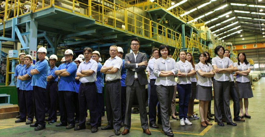 Lienchy Laminated Metal's Professional Management Team