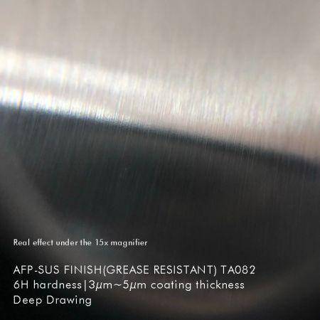 AFP-SUS_Finish-Ncc_TA082 (acero inoxidable recubierto de titanio de imitación) -Debajo de la lupa 15x