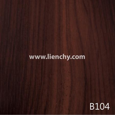 Wood Grain PVC Pre-coated Metal  - Red Cherrywood (films)