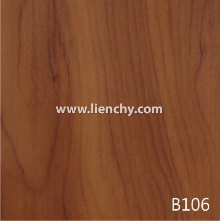 Wood Grain PVC Pre-coated Metal -Yew (films)