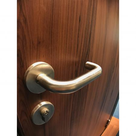 Wood Grain PVC Pre-coated Metal -Yew (Yew Wood Grain PVC pre coated metal fireproof door panel)