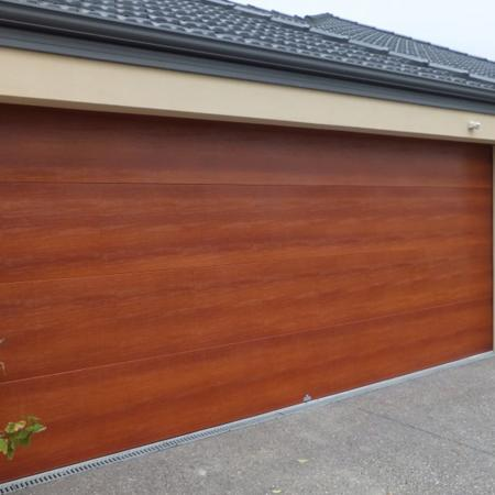 Wood Grain PVC Pre-coated Metal -Yew (Yew Wood Grain PVC pre coated metal garage fireproof iron roll door panel)