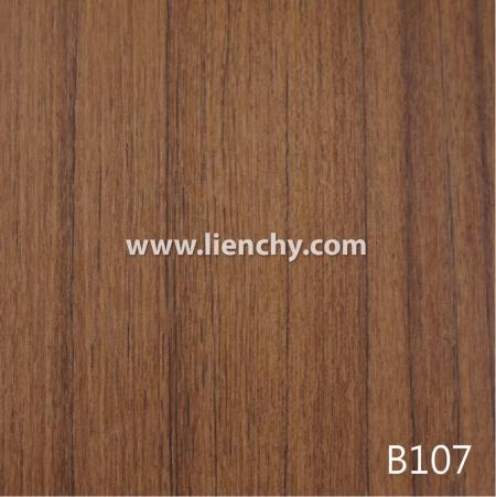 Wood Grain PVC Pre-coated Metal -Dark Teak (films)