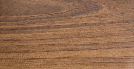 Wood Grain PVC Film Laminated Metal-Dark Teak