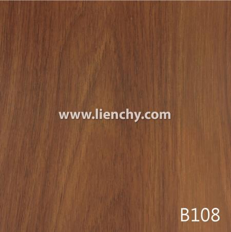 Wood Grain PVC Pre-coated Metal -Walnut (films)