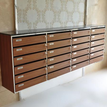 Wood Grain PVC Pre-coated Metal -Walnut (Walnut Wood Grain PVC Pre-coated steel elevator cabinet inner door panel)