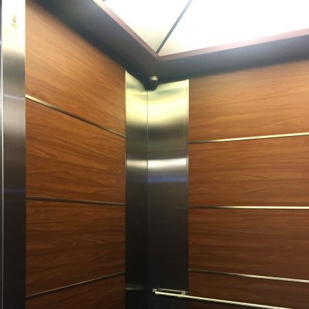 Wood Grain PVC Pre-coated Metal -Walnut (Walnut Wood Grain PVC Pre-painted steel passenger lift car indoor decorative door sheet)