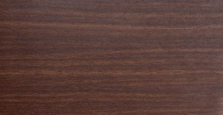 Wood Grain PVC Film Laminated Metal-Brown Walnut