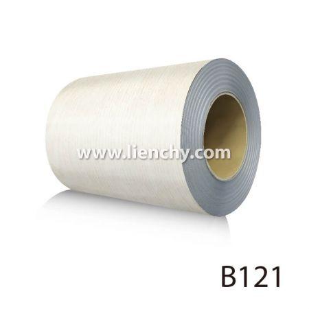 Wood Grain PVC Pre-coated Metal -White Oak (coils)