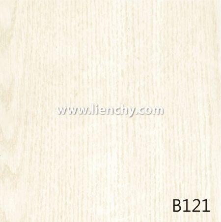 Wood Grain PVC Pre-coated Metal -White Oak (films)