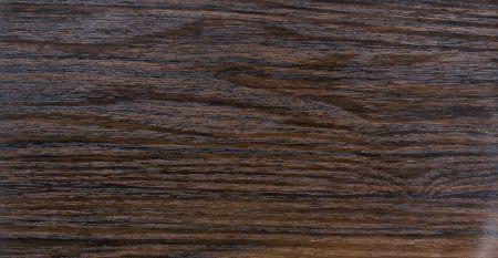 Wood Grain PVC Film Laminated Metal-Black Sandalwood - LCM-B125-Wood Grain PVC Film Laminated Metal-Black Sandalwood