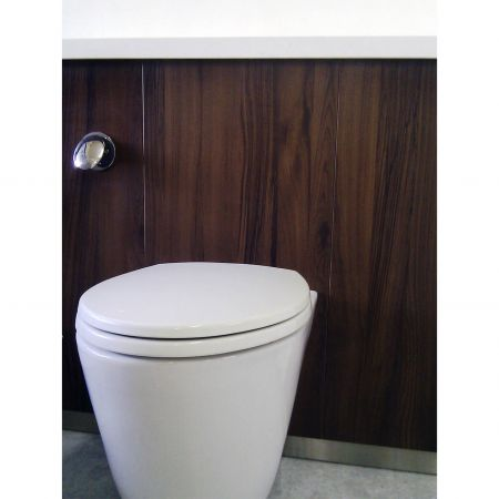 Wood Grain PVC Pre-coated Metal -Mocha Cherrywood (Mocha Cherrywood Wood Grain PVC Vinyl coated metal bathroom partition panel)