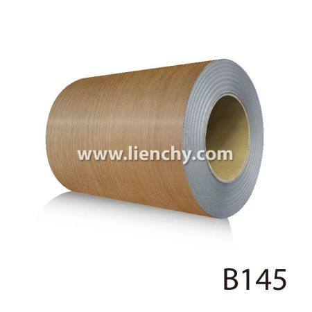 Wood Grain PVC Pre-coated Metal -Oak (coils)