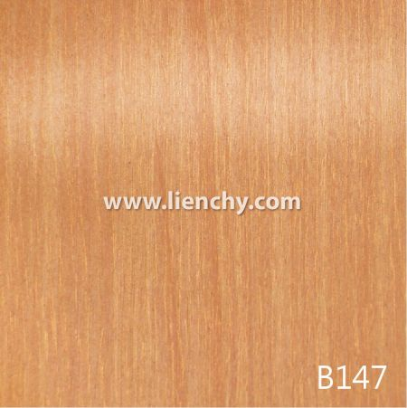 Wood Grain PVC Pre-coated Metal -Golden Oak (films)
