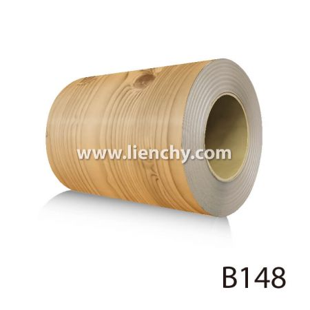 Wood Grain PVC Pre-coated Metal -Pinewood (coils)