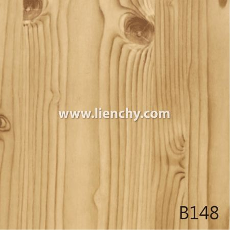 Wood Grain PVC Pre-coated Metal -Pinewood (films)