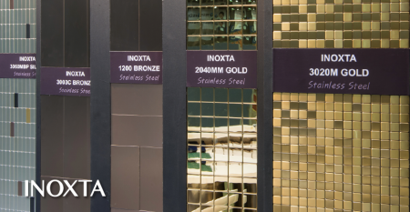 INOXTA stainless steel Wall Covering