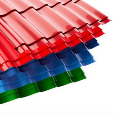 Color Pre-coated Galvanized steel coils (films)