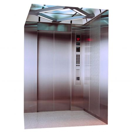 AFP-SUS Finish-Matte Anti-fingerprint stainless steel passenger elevator)