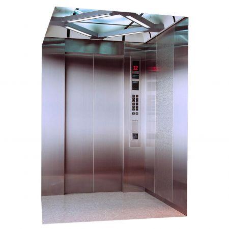 AFP-SUS Finish-Matte Anti-fingerprint stainless steel passenger elevator)
