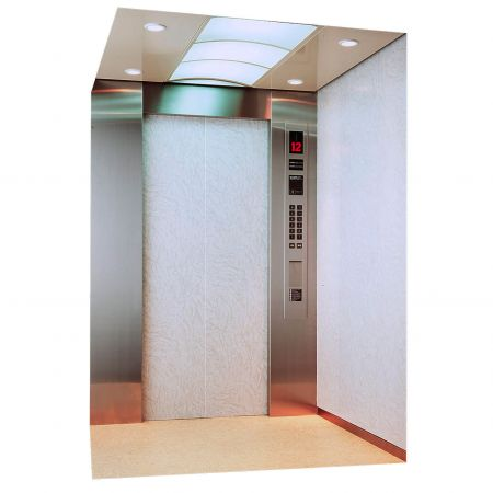 AFP-SUS Finish-Matte (Anti-fingerprint stainless steel passenger elevator)