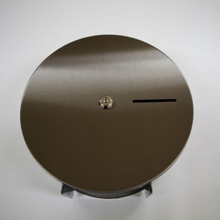 AFP-SUS Finish-Tungsten Black (Anti-fingerprint stainless steel toilet tissue dispenser)