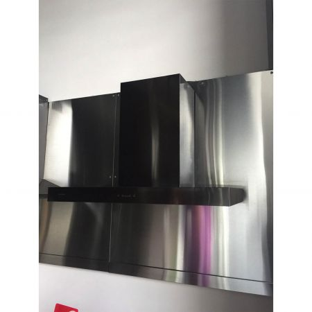AFP-SUS Finish-Black (Anti fingerprint stainless steel wall mount range hood)