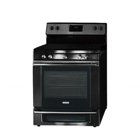 AFP-SUS Finish-Black (Anti fingerprint stainless steel gas stove and oven)