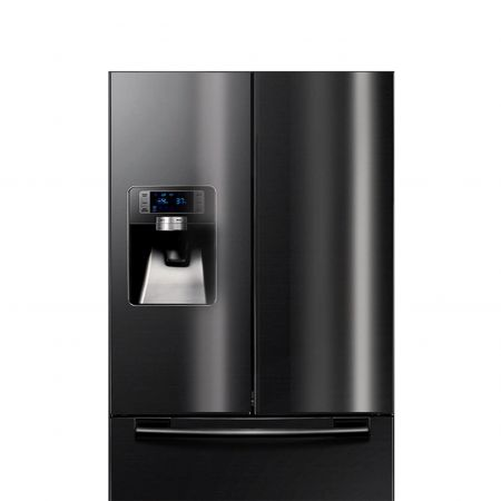 AFP-SUS Finish-Black (Anti fingerprint stainless steel refrigerator)